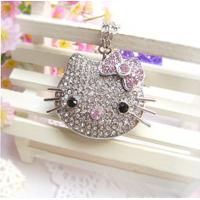 Quality Cartoon Crystal Custom Usb Drives HELLO KITTY The Avengers Personalised Usb Gift for sale