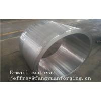 Quality JIS EN ASME ASTM Hydraulic Cylinder Bushing Sleeve Forged C45 4130 4140 42CrMo4 4340 Rough Machined And UT for sale