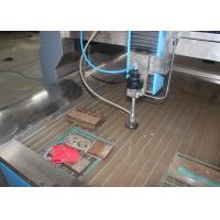 Quality Small Water Jet Cutting Machine For Metal / Marble Germany Siemens Main Motor for sale