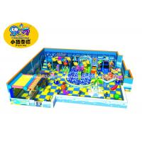 Quality Customized Theme Kids Indoor Soft Playground Games Amunment Park for mall for sale