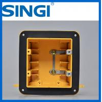 Buy Two gang ul certificate plastic outlet electrical wiring boxes with covers at wholesale prices