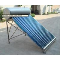 Quality Non Pressurized Solar Water Heaters for sale