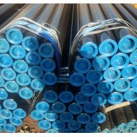Quality ASTM A106 Gr. B Black Seamless Carbon Steel Pipe Sch40 Sch80 Std For Fluid Transport for sale