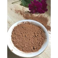 Buy NF02 Dark Brown Natural Low Fat Cocoa Powder 4%-8% Fat Content , 5.0-5.8 PH Value at wholesale prices