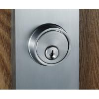 Buy Satin Nickel Entry Door Handlesets With Lever Interior Two Bolts at wholesale prices