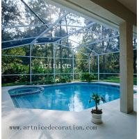 Buy Tempered / toughened glass for swimming pool fence, tempered / tougnened glass for swimming pool railing at wholesale prices