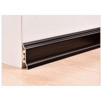 Quality 7cm Thickness Eco - Friendly PVC Skirting Boards For Modern Kitchen Decorative for sale