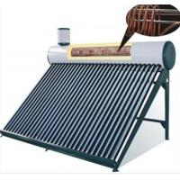 China Integrated Low Pressure Solar Water Heater , Galvanized Sheet Outer Tank on sale