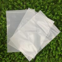 Quality white customizable PLA 100% Biodegradable Corn Starch Compostable Ziplock Bag for sale