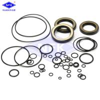 Quality Excavator HITACHHI ZX200 ZX200-3 Hydraulic Cylinder Seal Kits NBR TPFE IRON Material for sale
