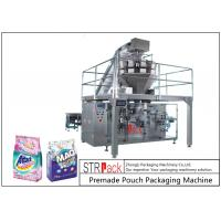 Buy cheap Powder / Granules Premade Pouch Packaging Machine High Efficiency With Linear from wholesalers
