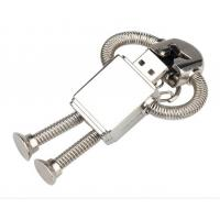 Quality 2.0 Robot Metal Usb Flash Drive , 128GB 512GB 4GB 64GB Creativo Usb Pendrive for sale