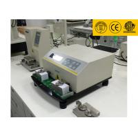 Quality LCD Displays ASTM D5264 Ink Rub Test Machine , Professional Abrasion Testing Machine for sale