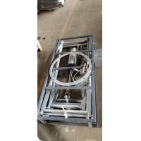 China Durable Sofa Lift Table , Metal Pneumatic Scissor Lift Table Working Smoothly on sale