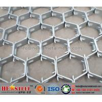 Quality 310S Hex Metal, Hexmetal for Reactor Vessels, Flex metal for refractory lining for sale