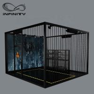 Quality Black Color VR Gaming Platform 9D VR Simulator Four People 12 Month Warranty for sale