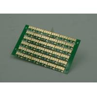 Quality Golden Finish Single Sided PCB FR4 Green Soldermasking 1oz Copper for sale