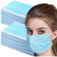 Quality Antibacterial Disposable Dust Mouth Mask Non Woven 3 Layer Face Mask for sale