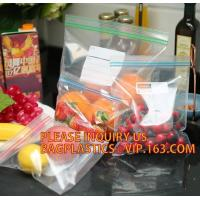 Buy cheap healthy food reclosable ziplock bags in color box, 100 Count Colored Box Packing 2 Mil Poly Ziplock Bag for US Market from wholesalers