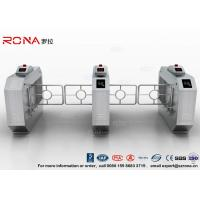 Quality RFID Automatic Swing Barrier Gate Smart Arm Revolving Door Security Access Control Turnstile for sale