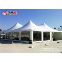 Quality Clear Span Large Frame Tent , Big Outdoor Tents For Weddings UV Resistant for sale