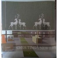 Buy Hollow-out roller blinds fabric at wholesale prices