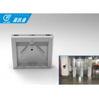 110V Autoamtic Card Reader Tripod Access System , Airports Stainless Steel Turnstiles