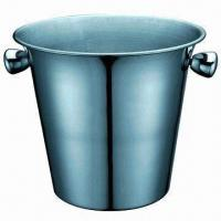 Quality Stainless Steel Ice Bucket with 2800ml Capacity for sale
