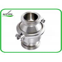 Quality Sanitary SS Check Valve , High Temperature Check Valve With Male Thread End for sale