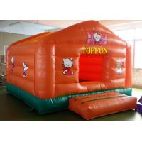 Quality Double Sewing PVC Tarpaulin Inflatable Jumping Castle Hello Kitty Bounce House for sale