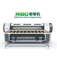 Quality UV hybird printer machine CMYK White color for PVC board printing for sale