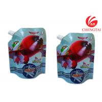 Quality Gravure Printing Surface Stand Up Spout Pouch Use Handling Shampoo Bags for sale
