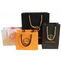 Quality Wholesale high grade hot factory cheap printed paper carrier bags for sale