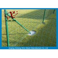 Buy Green Pvc Coated Wire Mesh Fencing For Garden OEM Acceptable XLF-07 at wholesale prices