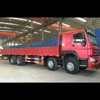 Quality Sidewall Fence Stake Cargo Truck 400L Tank Dimension Max Speed 102 Km/H for sale