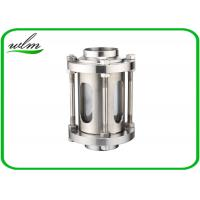 Quality 304 Stainless Steel Sanitary Sight Glass With Protective Net For Pharmaceutical Industries for sale
