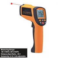 Quality Infrared temperature meter, digital temperature measuring instrument, Laser Infrared Thermometer for sale