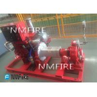 Quality diesel engine DRIVER 750usGPM@81M   END SUCTION Pump set  Ul Listed with jockey for sale