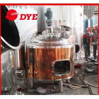 Quality Grain wheat brew glycol cooling jacket conical fermenter for making beer for sale