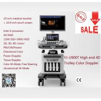Quality High End 4D Trolley Color Doppler Ultrasound Ultrasonic for sale