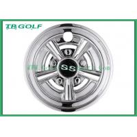 Quality White 8 Inch Golf Cart Wheel Covers Hub Cap 31 X 25.9 X 25.1 Cm For Ezgo for sale