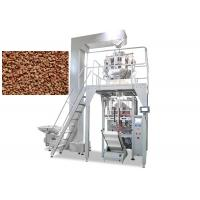 Quality Multi Functions Pet Food Packaging Machine , Snack Weighing Packaging Machine for sale