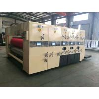 Quality Lead Edge Feeding Flexo Printing And Die Cutting Machine For Corrugated Cardboard for sale