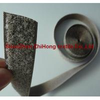 Quality Special Silver plated conductive anti electromagnetic radiation hook and loop for sale