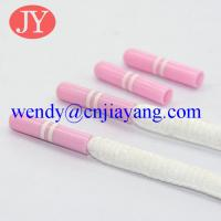 Buy Facotory pice Production180000pcs per day, jiayang plastic aglets plastic end tip for hooides at wholesale prices