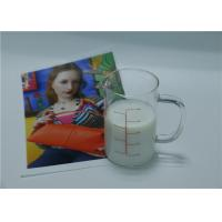 Buy cheap Matte Water Resistant Water Based Inkjet Receptive Coating For Fabrics White from wholesalers