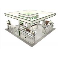 Buy Makeup Display Cabinet / Cosmetic Display Shelves Full - Assembly Structure at wholesale prices