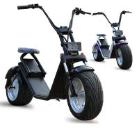 China Lithium Battery Electric Harley Scooter With 1000W Brushless Motor , CE Certification on sale