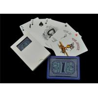 Matte Linen Finish Casino Playing Cards , Full Color Custom Design Playing Cards