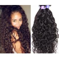 Quality I Tip Brazilian Hair Extensions , Beautiful Virgin Brazilian Curly Hair Extensions for sale